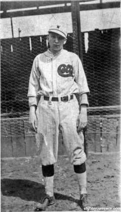 Stubby Currence, Colts Baseball
