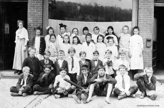 Elkins West Virginia Central School circa 1920 class photo