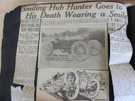 The stories about Smiling Hub Hunter in Stubby's album