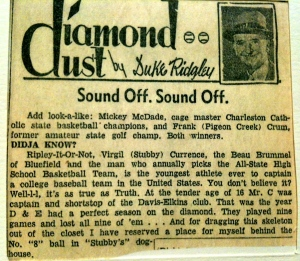 Diamond Dust by Duke Ridgley